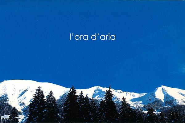 L'ora d'aria, cartolina, 2011, Galleria Toselli